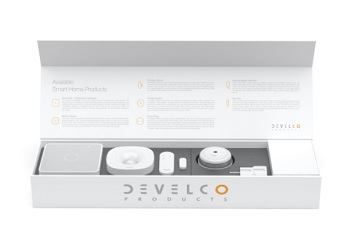 Develco, Evaluation Kit, smart home system, home gateways