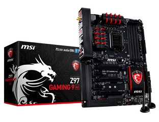 MSI, Z97 GAMING 9 AC motherboard, Hi-Fi gaming audio
